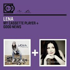 LENA - 2 FOR 1: MY CASSETTE PLAYER/GOOD NEWS 2 CD NEU