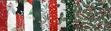 HALF CHARM PACK Christmas Traditions Fabric Pack - 20 pieces 10 designs