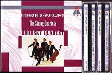 BRODSKY QUARTET: SHOSTAKOVICH String Quartet 6CD Streichquartett Schostakowitsch