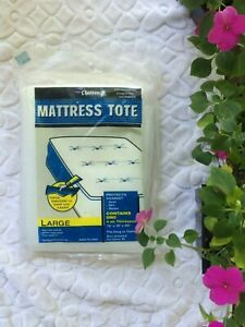 chateau Mattress Tote storage cover Fits Queen King New, sealed