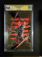 Snake Eyes Deadgame #1 CGC 9.8 Unknown Comics A Kael Ngu Virgin Cover - Signed