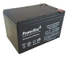 PowerStar® 12V 12Ah F2 PEG PEREGO RAPTOR REPLACEMENT BATTERY FAST SHIPPING