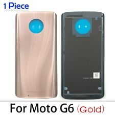 Battery Back Cover Back Rear Cover For Moto X4 One/G6 Plus/G7 Power/G9 Play