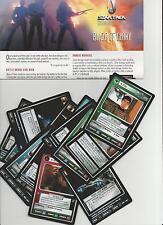 Star Trek Customizable Card Game CCG Blaze of Glory Einzelkarten AUSWAHL SELECT