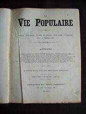 La vie populaire 1883 - T.7