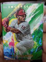2020 Topps Inception J.T. Realmuto (3x) Card Lot Philadelphia Phillies