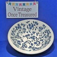 "Enoch Wedgwood Noisette Blue - Fruit Dish / Salad Bowl (9¼"") Vintage 1950s VGC"