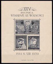 """Polen"""" Legions - Block 1939 """"Polnische Legion-Block 1939,MI Nr. Block 8 (0105)"""