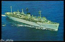 USS Holland  AS-32  postcard US Navy  warship Submarine Tender (card 2 of 2)