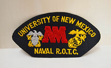 2 University of New Mexico Naval ROTC patches patch R.O.T.C. memorabillia New