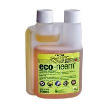 ECO NEEM BOTANICAL INSECTICIDE - 100ml - Caterpillars Aphids Mites Gnats Mites