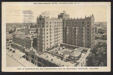 Postcard Atlantic City New Jersey/Nj New Seaside Hotel Aerial view 1920's