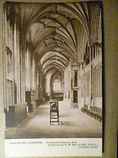 Winchester Cathedral, North Presbytery Aisle, Devon: Vintage Postcard