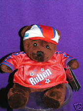 "AMERICAN IDOL RUBEN THE TEDDY BEAR ADORABLE 8"" Applause"
