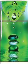 Sticker frigo électroménager déco cuisine Feuille 70x170cm réf 679