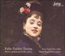 FALLA, TOLDR , TURINA: M£SICA ESPA¤OLA PARA VIOLIN Y PIANO USED - VERY GOOD CD