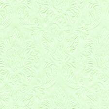 16 Serviette Uni Moments geprägt mintgrün mint grün hellgrün 25x25 cm