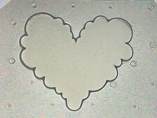 Flexible Resin Or Chocolate Mold Cute Puffy Kawaii Cloud Heart