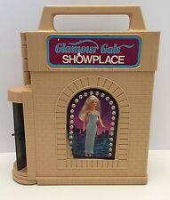 Vintage 1966-1981-82 Kenner Glamour Gals Showplace With 11 Dolls 3 Boys/8 Girls