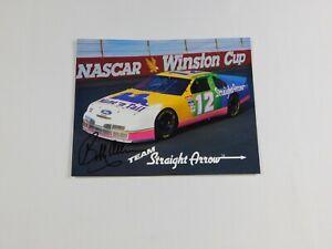 "Team Straight Arrow Bobby Allison ""The Legend"" Hand Signed Winston Cup Nascar"