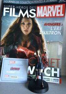 Marvel Movie Collection #20 Scarlet Witch Figurine (Avengers: Age of Ultron)