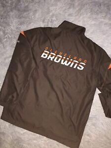 Cleveland Browns Reebok On Field Jacket Size Medium.