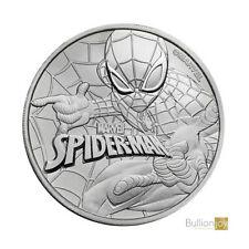 2017 1 oz Marvel Spiderman Silver Coin in capsule New!