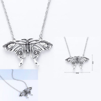 Mamma Mia Butterfly Pendant Fan Maid Like Yong Donna Silver Color Necklace Woman