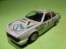 BBURAGO 1:24 -  BMW 635CSI  ENNY    O173  - RARE SELTEN - GOOD CONDITION