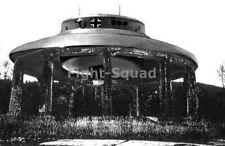 WW2 Picture Photo Secret Photos of  German UFO Hauzbu Ready to Fly 2 3419