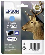 "Epson T1302XL ""Hirsch"" DURABrite Ultra Ink Single Pack Cyan 10.1ml"