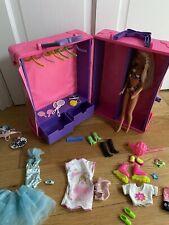 Barbie Deluxe Trunk Mattel 1991 Vintage Tropical Splash Doll Full Of Accessories