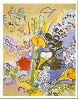 Le Bouquet by Raoul Dufy 12x.5 Museum Art Print Colorful Flowers