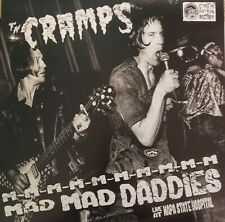 THE CRAMPS - Mad Mad Daddies Live At Napa State Hospital BLACK VINYL LP (NEW)