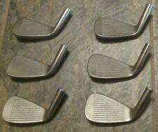 Edel Forged 5-PW heads only (6) Total .355 Righthanded Used