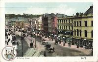 "Vintage ""Irish Life Postcard"" St. Patrick Street, Co. Cork, Ireland Unposted."