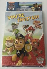 Paw Patrol Invitation and Thank You Cards - 8 pack