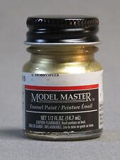TESTORS PAINT MODEL MASTER BRASS ENAMEL 1/2oz 14.7ml plastic model car NEW 1782