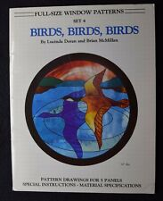 Stained Glass Pattern Book - Birds, Birds, Birds