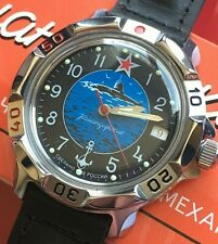 VOSTOK KOMANDIRSKIE RUSSIAN MILITARY WATCH #811163 NEW