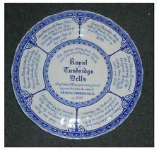Mason's 'Royal Tunbridge Wells's placa conmemorativa 26cms