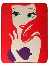 Disney The Little Mermaid Ariel Minimalist Super Plush Throw Blanket