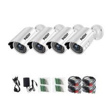 4 Pack 1080P 4in1 Bullet Indoor Outdoor Camera Waterproof Security System 65ft