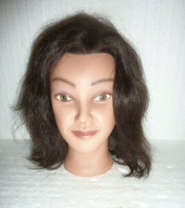 Vintage Ms Anna Manikin Marianna 14120 Cosmetology Hairdressing Head Mannequin
