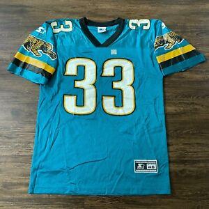 NWOT Vintage 90s Starter Jacksonville Jaguars Jersey Sz 46 James Stewart #33 NFL