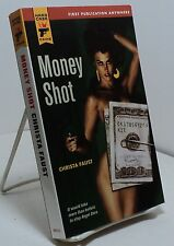 Money Shot by Christa Faust - First edition - Hard Case Crime #40
