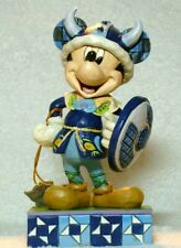 """Jim Shore Disney Traditions """"Greetings From Norway"""" Mickey Mouse #4051992 Nib"""