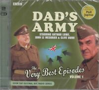 Dad's Army Very Best Episodes Volume 1 2CD Audio Radio Comedy NEW FASTPOST
