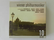 10 CD Set Wiener Philharmoniker Furtwängler Walter Busch Kleiber Schuricht Böhm