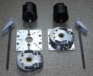 2 x Schneckengetriebe Kurbelgetriebe 7:1 für Rolladen